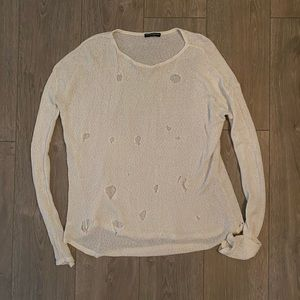 Brandy Melville Distressed Sweater